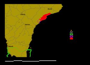 Refugio Romelia Map